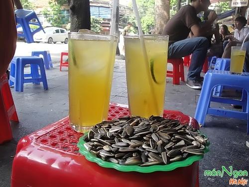 Trà chanh trong những ngày hè tại Hà Nội