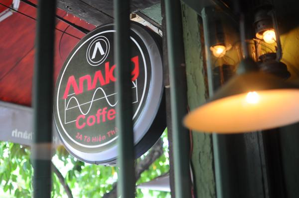 Analog Coffee- trở về cổ điển