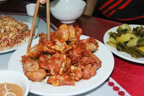Đặc sản bê chao ngày lạnh ở Mộc Châu