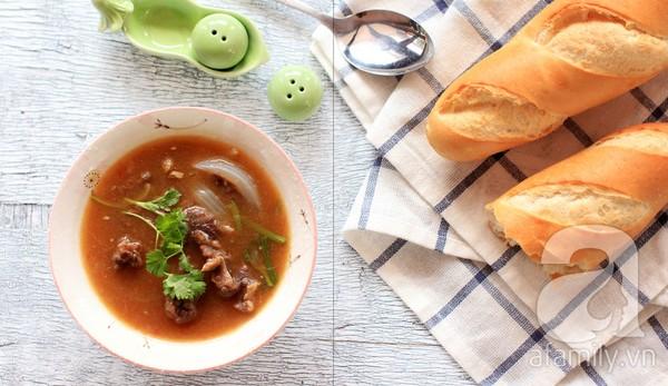 Món ngon cuối tuần: Thịt bò sốt vang