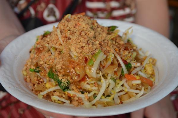 Ẩm thực đường phố Thái Lan không bao giờ hết mê