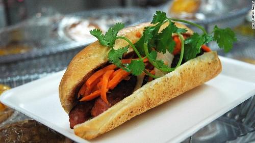 Bánh mỳ Việt được vinh danh trên đất Mỹ