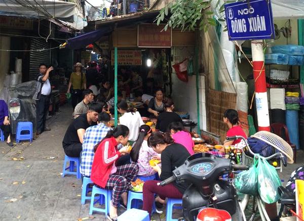 Đồng Xuân - con ngõ ẩm thực gợi nhớ yêu thương