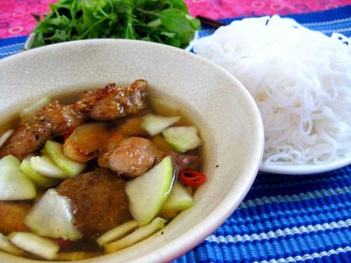 Văn hóa ẩm thực: Nghi lễ bún chả