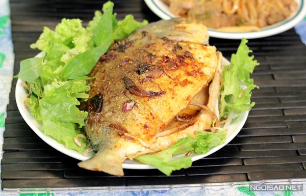 Cá chim sốt dầu hào