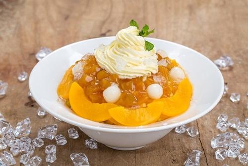 Fruit Bingsu - món mát lạnh của mùa hè