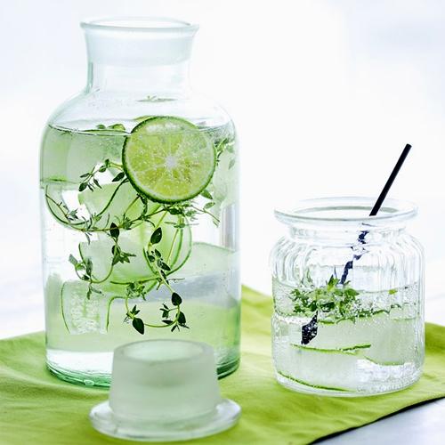 Nước giải khát với hương vị tự nhiên