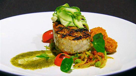 Các món ăn sáng tạo trong đêm chung kết Vua đầu bếp Mỹ